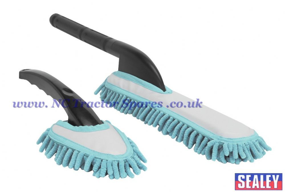 Microfibre Brush Set 2pc